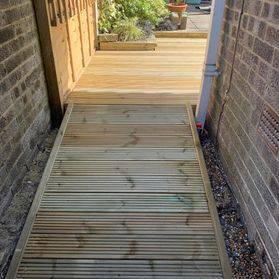 access ramp for decking